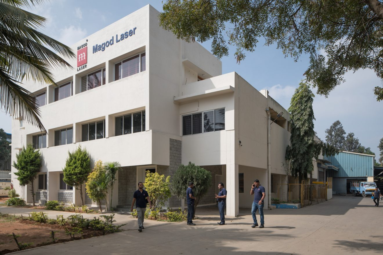 Magod Laser's headquarters in Bengaluru.