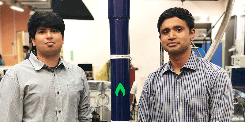 Moin SPM and Srinath Ravichandran, Co-Founders at Agnikul Cosmos