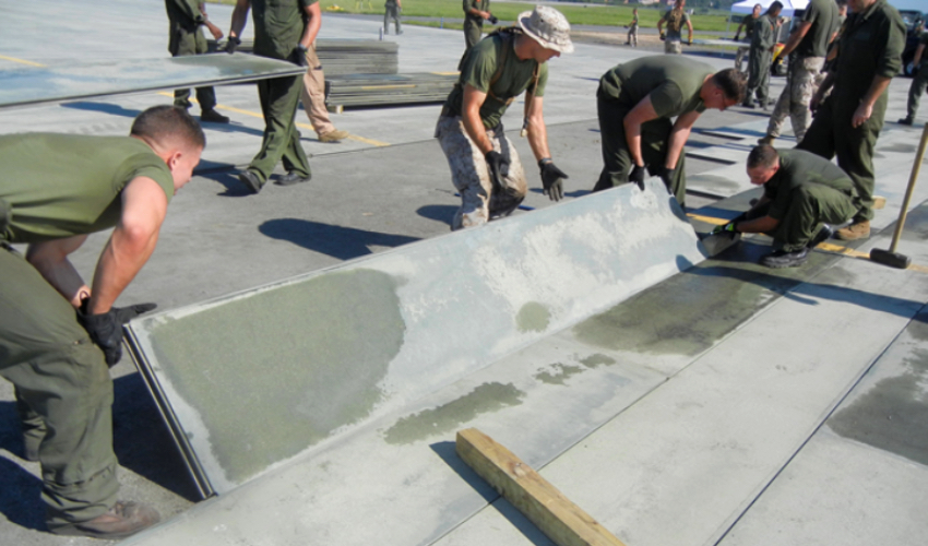 Purdue and US Air Force developing 3D-printed runway mat development