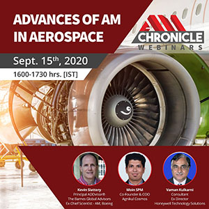 Advances of AM in Aerospace - 15 Sept 2020
