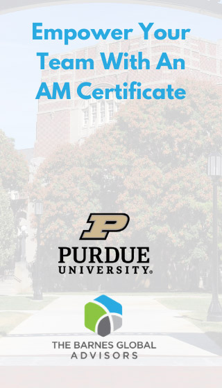Empower your team with AM Certification from Purdue University