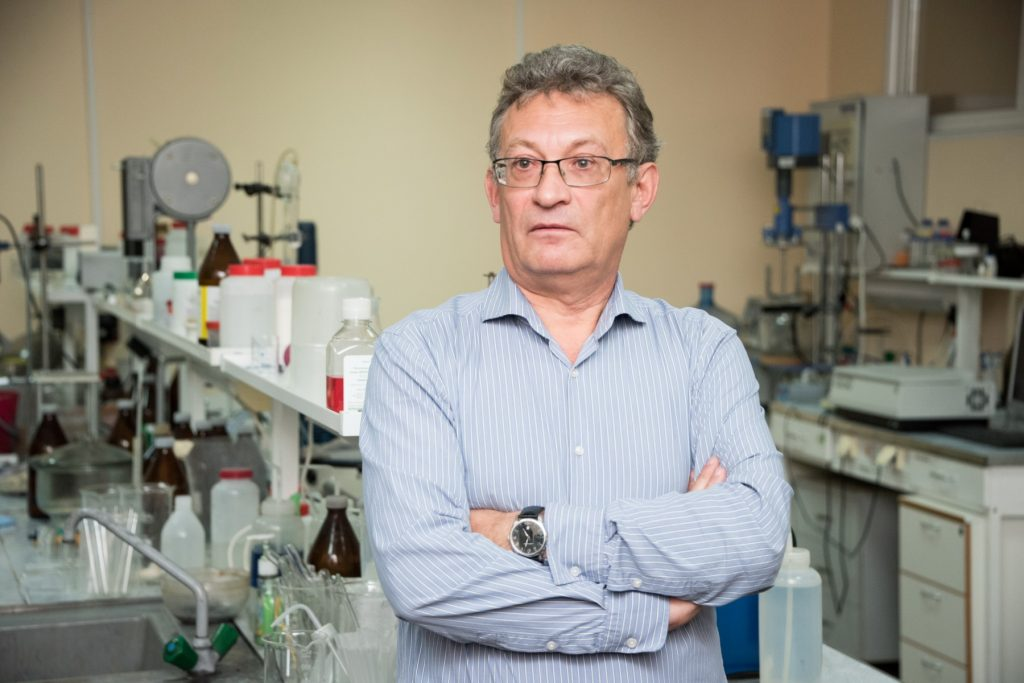 Prof. Dr. Marat Lerner (Doctor of Technical Sciences, Project Manager & Laboratory Head at ISPMS). Image - Tomsk State University.