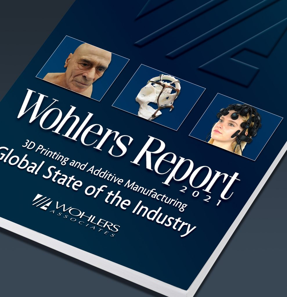 Wohlers Report 2021 Front Cover