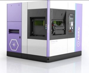The FormUp 350 New Generation metal 3D printer.