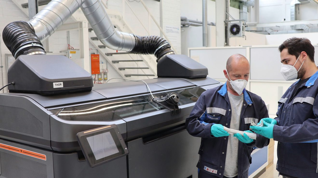 Volkswagen plans to use new 3D printing process in vehicle production in the years ahead