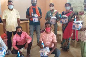 Phillips Machine Tools join hands with Unbound Futures Foundation for providing Covid Care Kits