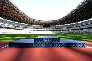 Asao Tokolo 3D prints Tokyo 2020 podiums from donated plastic waste