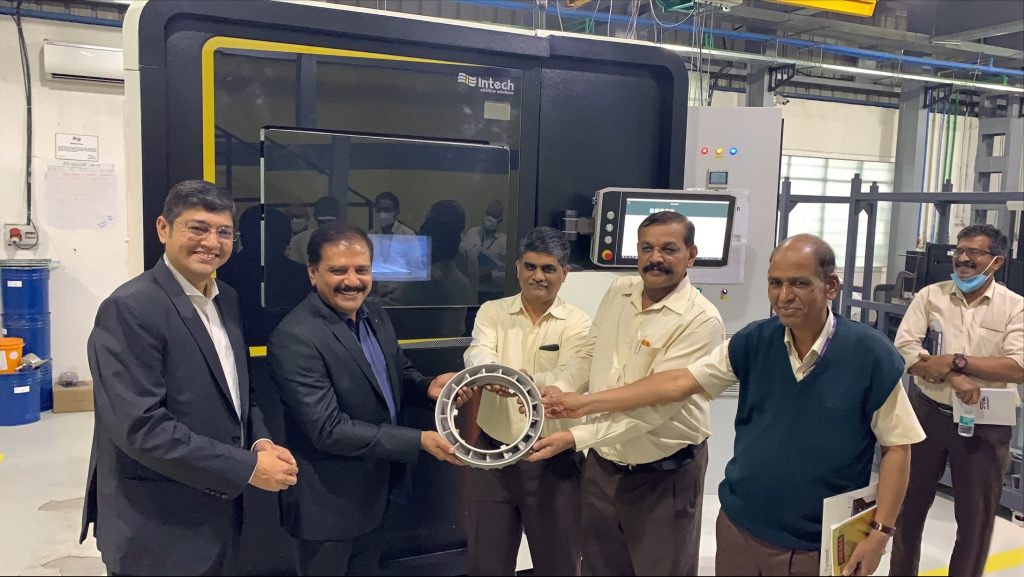 Intech and HAL develop 3D Printed Aero-Engine part using Superalloy CM 247LC
