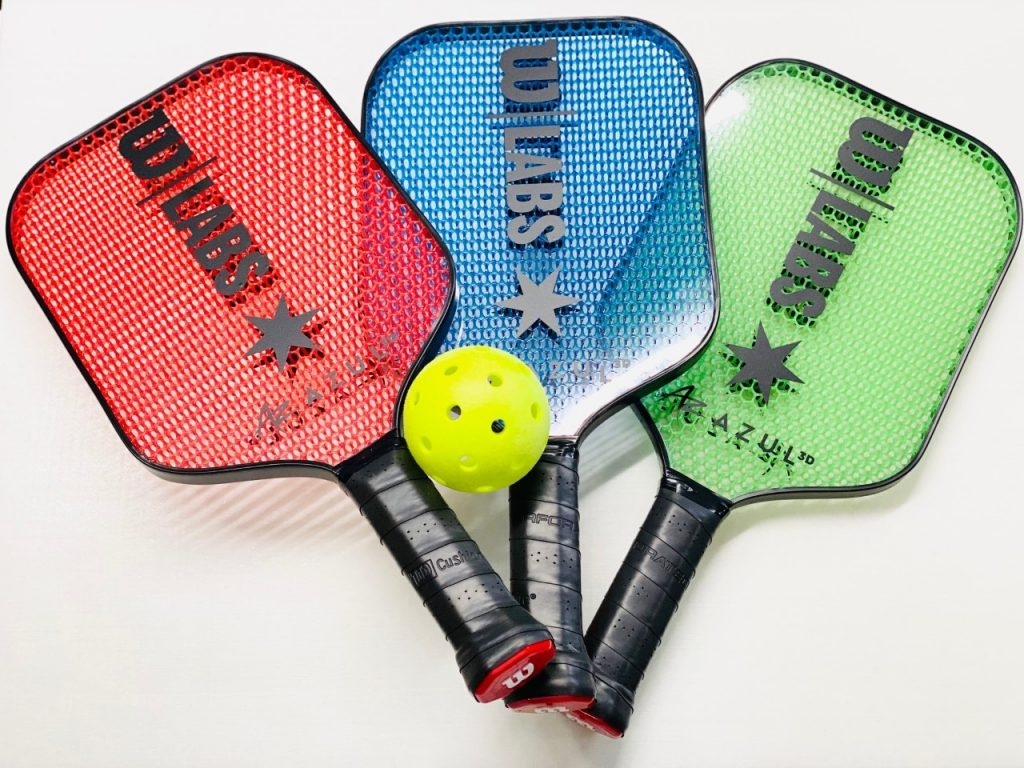 Azul 3D and Wilson Sporting Goods Develop New 3D-Printed Pickleball Paddles